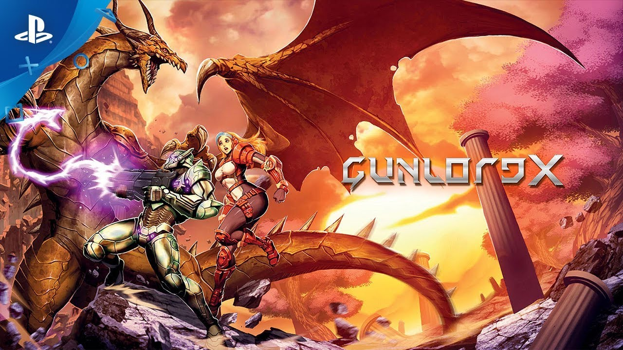 2D Action Arcade Platformer Gunlord X Hits PS4 Tomorrow