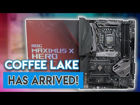 ASUS Maximus X Hero Z370 Motherboard Review! [COFFEE LAKE IS HERE!]