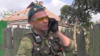 Боевое применение пушки Рапира ополчением, в бою за аэропорт