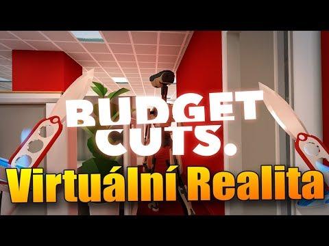 ŠPIONÁŽ MEZI ROBOTY! - Budget Cuts VR!