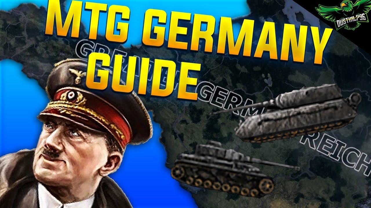 Hearts of Iron 4 Man the Guns Germany Guide 1936 - 1945 (HOI4 MTG