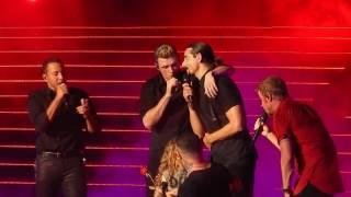 Backstreet Boys - Shape Of My Heart (with Ava) - 6/15/17 - Las Vegas  #BSBVegas