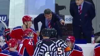 Хоккейная грязь от Игоря Макарова / Makarov knees Antipin late in the 3rd