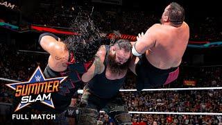 FULL MATCH: Lesnar vs. Reigns vs. Joe vs. Strowman - Universal Title Match: SummerSlam 2017