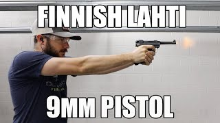 "Finnish Lahti 9mm Pistol Model L-35 4.75"" BBL - Manufactured by VKT Valmet Finland - Various Surplus Condition"