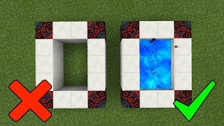 Minecraft Pocket Edition ENTİTY 303 PORTALI NASIL YAPILIR ? [ Öldürdüm ] GECE 3 'TE