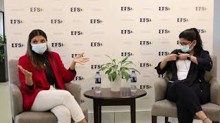 EFS Young Leaders Forum with Nyla Khan ( Part A )