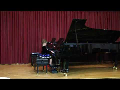 "student plays ""The Haunted Mouse"" by Nancy & Randall Faber"