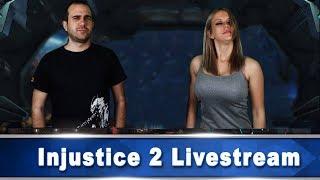 Παίζουμε Injustice 2 Live