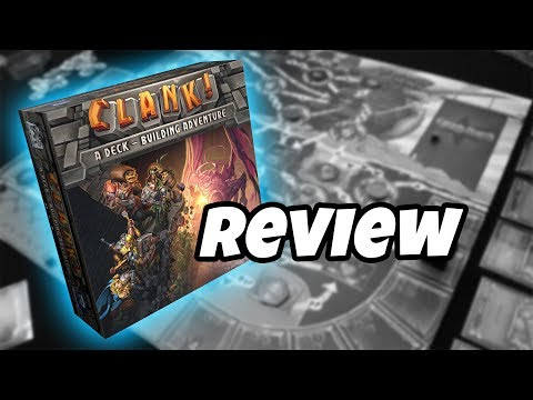What's in the box...CLANK!: A DECK-BUILDING ADVENTURE