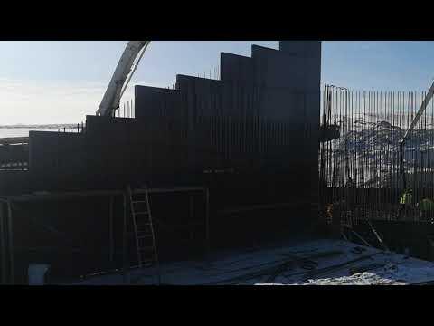 Betonowanie fundamentu obiektu PZ-6