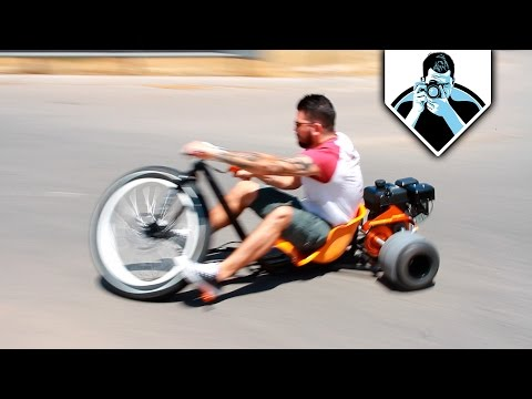 Probando Triciclo de Drifting con DimeNacho