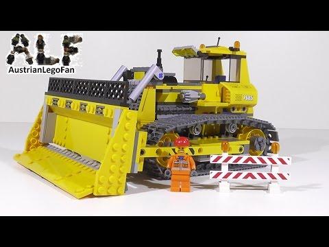 Vidéo LEGO City 7685 : Le bulldozer
