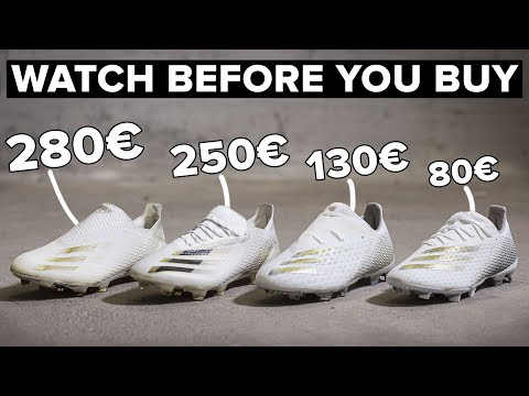 CHEAP vs EXPENSIVE | All adidas X Ghosted football boots explained