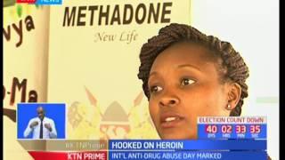 Kenya marks international day against drug abuse as Kenya launches new treatment for drug addicts