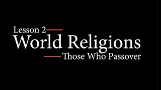 World Religions Lesson 2