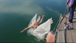 Лучшие приколы на свадьбе! Случается разное видео свадьбы в 2018 Находке Владивостоке