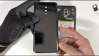 How to Remove the OnePlus 6T Back Glass Cover