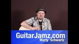 "Acoustic Blues Lesson ""Eric Clapton"" unplugged solo"