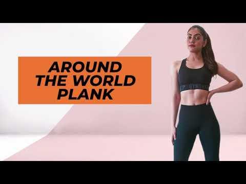 Around the world plank