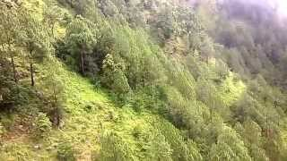 preview picture of video 'View from cable car at Manakamana'