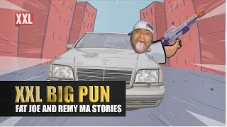 Fat Joe and Remy Ma Tell the Story of Big Pun Shooting Super Soakers at Old Ladies