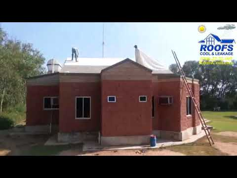 Roof Heat Proofing Project of The Enclaves Farm House