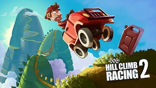 HILL CLIMB RACING 2 Adventure Mode / 7695m and 6418m Record for Countryside / Forest in Super Diesel