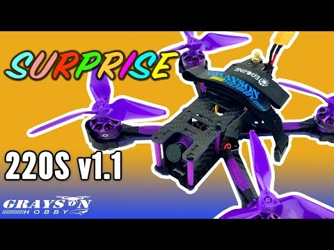 eachine-wizard-220s-v11-arf--fpv-racer-drone-for-noobsish--unboxing
