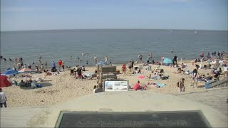 Coronavirus US   Lake Michigan Beaches Packed With Thousands On Memorial Day Weekend
