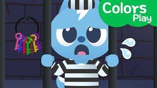 [Miniforce] Learn colors with Miniforce | Escape prison | Escape Play | Miniforce Colors Play