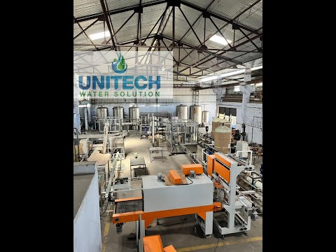 Packaged Drinking Water Plant Machinery