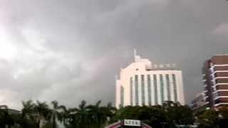 TropicalRain. Дождь в Цухае (Китай).