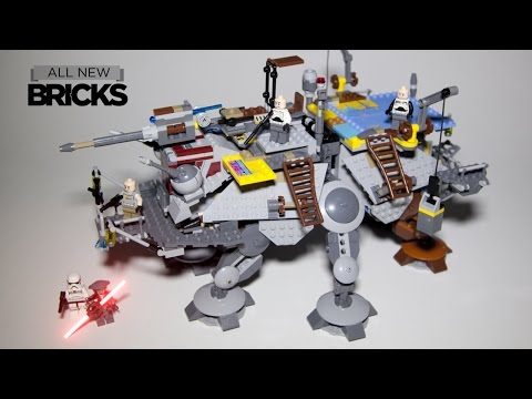 Vidéo LEGO Star Wars 75157 : L'AT-TE du Capitaine Rex