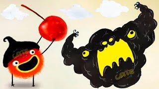 ПРИКЛЮЧЕНИЯ ЧУЧЕЛ мультик игра для маленьких детей #17 игровой мультфильм 2019 Chuchel Черный шарик!