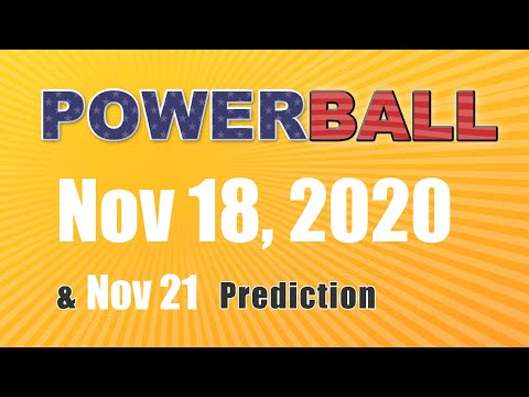 Winning numbers prediction for 2020-11-21|U.S. Powerball
