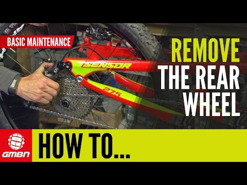 How To Remove The Rear Wheel On Your Mountain Bike | Basic MTB Maintenance