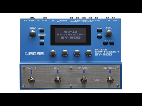 BOSS SY-300 Guitar Synthesizer Review by Sweetwater