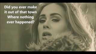 Adele Hello - Letra (ingles)