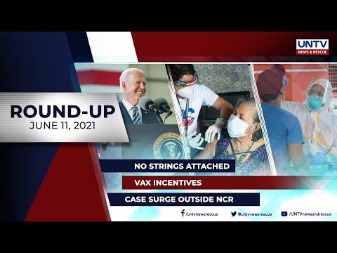 [UNTV]  UNTV NEWS ROUNDUP: Mga balitang dapat mong malaman (June 11, 2021)