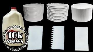 DIY Cake Scraper / Bench Scraper / Home made cake tools