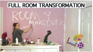 EXTREME ROOM MAKEOVER/ FULL ROOM TRANSFORMATION!!