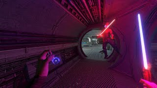 Freeze and force choke enemies in The Outer Rim