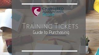 Chartered Accountants Ireland Training Tickets 2019