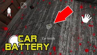 How To Use CAR BATTERY in Granny 1.7 (2019)