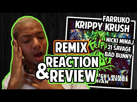 🎵 KRIPPY KUSH (REMIX) - Farruko, Nicki Minaj, Bad Bunny [REACTION + REVIEW]  ft. 21 Savage, Rvssian mp3