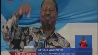 Ktn Leo Wikendi: Raila Odinga ataka wanaohusika katika ufisadi wachukuliwe hakua kali