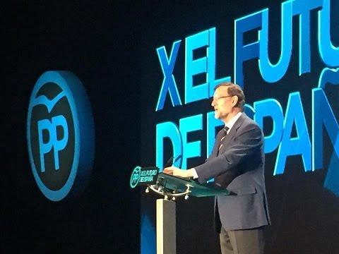 Rajoy: Afirmar y defender la libertad  es el signo de este partido