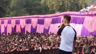 Millind Gaba MusicMG Live in Lakshmi Bai College New Delhi