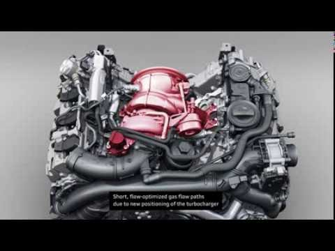 Фото к видео: Audi S4 (B9) 3.0 TFSI Engine